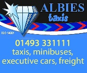 Albies Taxis, Great Yarmouth