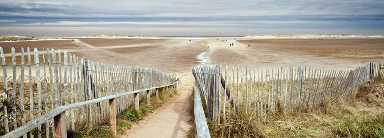 Slope to Holkham Beach - Stephen Mole 780x280 for home page